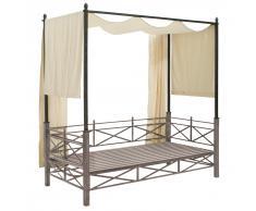 Gästebett MBM Baldachin Lounge Bett Medici