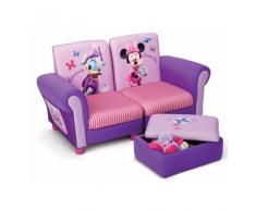 SOFA MINNIE MOUSE MIT HOCKER