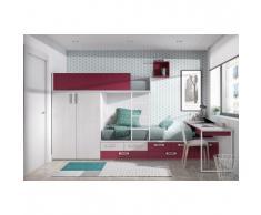 Etagenbett Metall Günstig : Feroe sofa etagenbett in grau lackiert metall livflex