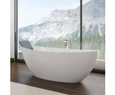 Hoesch NAMUR ovale freistehende Badewanne L: 150 B: 70 cm 4405.010