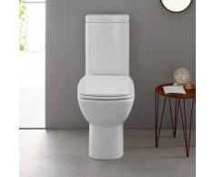 Globo DAILY Stand-Tiefspül-WC L: 65 B: 37 cm weiß DA003BI
