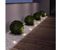 Osram NOXLITE LED Garden Spot Mini Starterset 9 x 0.5 Watt 4008321999160, EEK: A+. Diese Leuchte enthält eingebaute LED-Lampen. A++ (LED), A+ (LED), A (LED). Die Lampen können in der Leuchte nicht ausgetauscht werden.