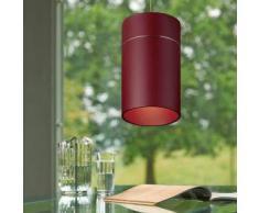Oligo TUDOR L LED Pendelleuchte mit Dimmer Ø 12 H: 200 cm, rot matt T42-864-32-25, EEK: A+. Diese Leuchte enthält eingebaute LED-Lampen. A++ (LED), A+ (LED), A (LED). Die Lampen können in der Leuchte nicht ausgetauscht werden.
