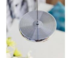 Oligo DECENT LED Pendelleuchte mit Dimmer 1-flammig Ø 13,5 H: 200 cm, chrom G42-885-10-05, EEK: A+. Diese Leuchte enthält eingebaute LED-Lampen. A++ (LED), A+ (LED), A (LED). Die Lampen können in der Leuchte nicht ausgetauscht werden.