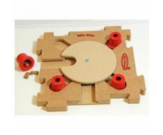 Nina Ottosson Mix Max Puzzle Holz Hundespiel, Rot, Holz