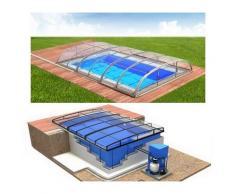 Swimmingpool-Komplettset Albixon Quattro Dallas Clear Uno+
