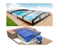 Swimmingpool-Komplettset Quattro Infinity Premium+