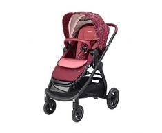 Maxi Cosi Adorra Kombi Kinderwagen, mit Liegeposition, großem Einkaufskorb, einhändigem Faltmechanismus und geringem Gewicht, nutzbar ab Geburt bis ca. 3,5 Jahre, 0-15 kg, Marble Plum (violett)