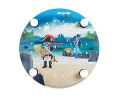 ELOBRA Deckenleuchte PLAYMOBIL Pirates, 20 LEDs warmweiß, 230V, E14, max 4 x 40 Watt, 136171