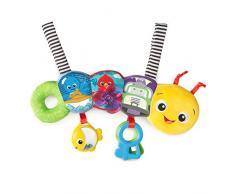 Baby Einstein, Raupe Spielzeugbügel für Den Kinderwagen mit 8 Melodien, Rasseln und Stoffriemen, einfach zu Befestigen 11155-6 Mehrfarbig