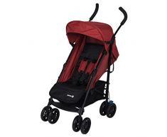 Safety 1st Buggy Up to Me, wendiger Kinderwagen mit 4-fach verstellbarer Rückenlehne und gepolstertem Sitz, Leicht zu transportieren, nutzbar ab der Geburt bis max. 15 kg, red chic/rot