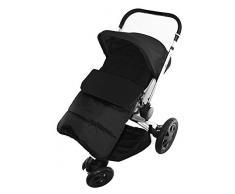Fußsack/COSY TOES kompatibel mit Quinny Moodd Kinderwagen black jack