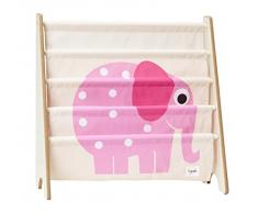 3 Sprouts Bücherregal Bücheraufbewahrung Elefant