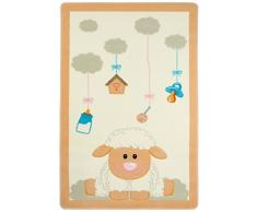 Confetti CNFBBYSHP1016 Kinder Teppich, 100 x 160 cm