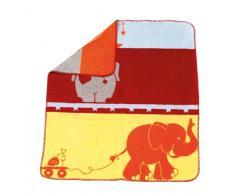 Urra 350 - 4741 - 09 - Jacquarddecke Elefanten, 75/100