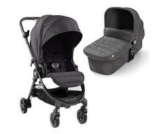 Baby Jogger City Tour LUX Kinderwagen und Stubenwagen   kompakt, leicht, zusammenklappbar und tragbar   Granite (dunkelgrau)