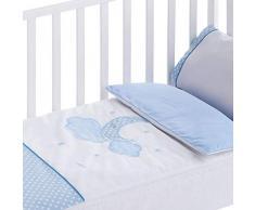 Pekebaby Moon Bettbezug, abnehmbar, 50 x 80 cm 50 x 80 cm blau