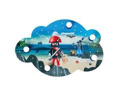 ELOBRA Bildwolke PLAYMOBIL Pirates, Wand-/ Deckenleuchte, 40 LEDs warmweiß, 230V, E14, max 5 x 40 Watt, 136188