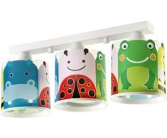 big friends Deckenlampe Dalber 62123 Maienkäfer Frosch Nielpferd Lampe Kinder Zimmer
