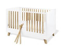 Pinolino 113420 Kinderbett Pan, weiß