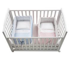 ITALBABY Bebe Uni Farben Kinderbett Reduzierst/ück beige