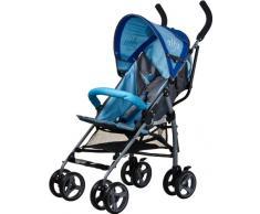 Caretero Alfa, Licht Kinderwagen Buggy, blau