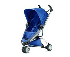 Quinny Zapp Xtra 2 Buggy mit viel Zubehör - sehr klein zusammenfaltbar, leicht und komfortabel, blau
