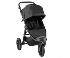 Baby Jogger City Elite 2 Kinderwagen für jedes Gelände   Zusammenklappbarer und tragbarer   Granite (dunkelgrau)