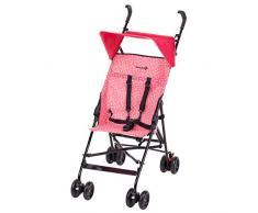Safety 1st 1182825000 Peps Buggy mit Sonnenverdeck, wendiger Kinderwagen nutzbar ab ca. 6 Monate - max. 15 kg, kompakt faltbar, wiegt nur 4,5 kg, Super rosa, 4.86 kg