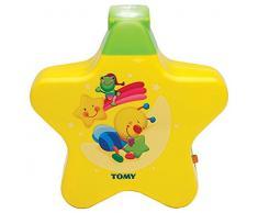 TOMY Starlight Traumshow in Gelb, Nachtlicht Kinderzimmer, Einschlafhilfe für Babys mit Musik, Vereint Babyspieluhr und Schlummerlicht, Babyzubehör, Geschenke zur Geburt, ab 0 Monaten