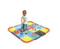 Tatamiz - Cricket Set teppich - EVA Schaum Puzzle - 39 Platten - 2 Gummigeschosse - Ab 3 Jahren - Darpèje - TTMZ106