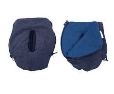 Altabebe AL2801P-49 Handmuff-Handschuhe Alpin Kollektion für Kinderwagen, blau