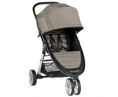 Baby Jogger City Mini 2 3-Rad Kinderwagen   leichter, zusammenklappbar und kompakt   Sepia (hellgrau)