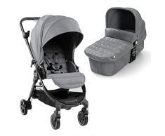 Baby Jogger City Tour LUX Kinderwagen und Stubenwagen   kompakt, leicht, zusammenklappbar und tragbar   Slate (grau)