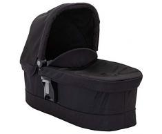 Graco Evo Luxury Babywanne, ab Geburt, 0-9 kg, mit Sportwagen Graco Evo als Kombikinderwagen, inkl. kuscheligem Fleece-Kokon, Black/Grey