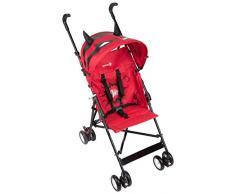Safety 1st 1187816000 Crazy Peps Buggy mit Sonnenverdeck, farbenfroher, wendiger Kinderwagen nutzbar ab ca. 6 Monate - max. 15 kg, Super, rosa, 4.99 kg