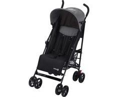 Safety 1st Buggy Rainbow, kompakter und wendiger Kinderwagen, mit mehrfach verstellbarer Rückenlehne und gepolstertem Sitz, leicht und sehr kompakt zusammenfaltbar, black chic (schwarz)