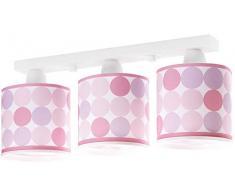 Dalber Colors Deckenleuchte 3 Leuchte, rosa 62003S