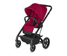 CYBEX Gold Kinderwagen Balios S, Ab Geburt bis 17 kg (ca. 4 Jahre), Rebel Red