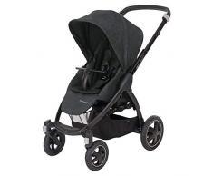 Bébé Confort Stella Kinderwagen für Gelände (0 – 15 kg), Nomad Black