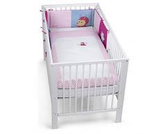 Elefant Erwin Sterntaler Bett-Set Blau//Mehrfarbig Alter: F/ür Babys ab der Geburt Kopfkissen Bettdecke und Bett-Nestchen