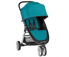 Baby Jogger City Mini 2 3-Rad Kinderwagen   leichter, zusammenklappbar und kompakt   Capri (blau)
