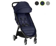Baby Jogger City Tour 2 Buggy, kompakt leicht, zusammenklappbar & tragbar Kinderwagen, Seacrest (Blau)