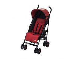 Safety 1st Buggy Rainbow, kompakter und wendiger Kinderwagen, mit mehrfach verstellbarer Rückenlehne und gepolstertem Sitz, leicht und sehr kompakt zusammenfaltbar, red chic (rot)