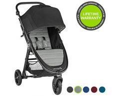 Baby Jogger City Mini Gt2, leichter Kinderwagen für Jedes Gelände, Schneller Einhand-Faltmechanismus, Slate (grau)
