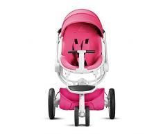 Quinny Moodd Kinderwagen, mit automatischer Aufklappfunktion, Ruheposition in beide Fahrtrichtungen, modernes Design, ab der Geburt bis ca. 3,5 Jahre, pink