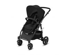 CBX Leotie Flex, Kombikinderwagen mit 2in1 Sitzeinheit (inkl. Regenverdeck und Adapter für Babyschale), Kollektion 2018, smoky anthracite