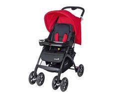 Safety 1st 11008855 - Trendideal Comfort Buggy, Liegebuggy und Reisesystem, plain red