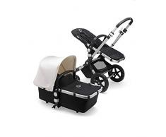 Bugaboo Cameleon 3 Plus, 2-in-1 Erstlings- und Kinderwagen, Schwarz/Fresh White