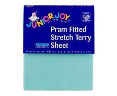 Junior Joy Kinderwagen Spannbetttuch Stretch Terry (mint)